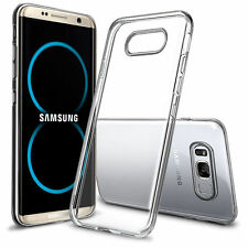 Samsung Galaxy S8 Plus Handy Cover Case Schutzhülle Tasche Silikon transparent