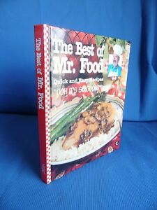 The best of mr food quick and easy recipes 2002 illustrated ebay image is loading the best of mr food quick and easy forumfinder Image collections