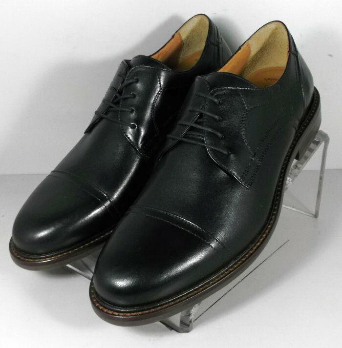 209791 ES50 Chaussures Hommes Taille 9.5 M Noir en Cuir à Lacets Johnston & Murphy