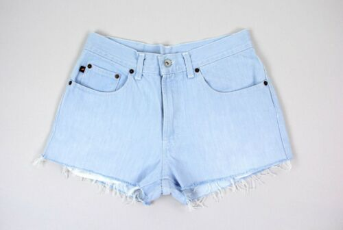 Vintage DKNY light blue denim shorts, size W31