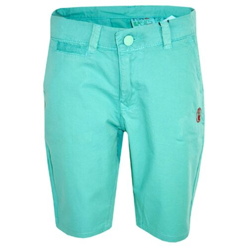 Kids Boys Shorts Aqua Chino Shorts Summer Knee Length Half Pant New Age 2-13 Yrs