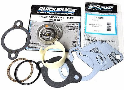 Genuine MerCruiser Thermostat Kit 1987-Current 807252Q5 160°