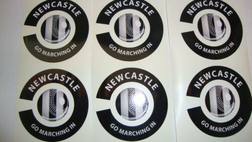 NEW NEWCASTLE 16 CROWN GREEN BOWLS STICKERS LAWN BOWLS    8 THUMB 8 FINGER