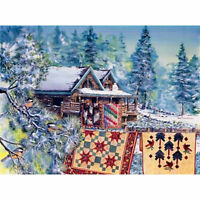 Bear's Paw Ranch By Diane Phalen - 1500 Piece Sunsout Puzzle Quilts Cabin