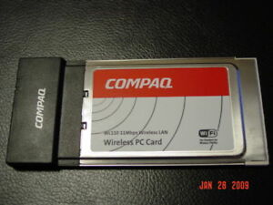 COMPAQ WL110 WIRELESS DRIVERS FOR WINDOWS XP
