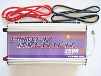 2500w/5000w Watt Stackable Power Inverter 12v Dc To 230v Ac