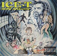 ICE-T : HOME INVASION / CD (RHYME SYNDICATE RECORDS 1993)