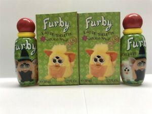Lot-of-2-Furby-by-Air-Val-for-Boys-1-7-oz-50-ml-Eau-de-Toilette-Spray