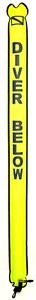Ponctuel Surface Marker Buoy Signal Tube De Sécurité Saucisse Smb Jaune Fluo 6 Ft (environ 1.83 M) Pied Plongée Ft-afficher Le Titre D'origine Jouir D'Une RéPutation éLevéE Chez Soi Et à L'éTranger
