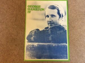 Rare-George-Hamilton-IV-Concert-Programme-Signed-By-George-amp-Billie-Jo-Spears
