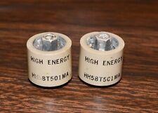 High Energy Corp Hec 500pf 5000 Volt Dc 5kv Hh58 Doorknob Capacitor