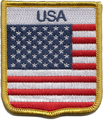 Parche bandera PATCH WASHINGTON ESTADOS UNIDOS AMERICA USA bordado termoadhesivo