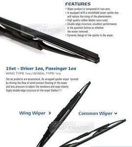 Oem wing windshield wiper blades 2ea 24 18 for kia 2011 2016 image is loading oem wing windshield wiper blades 2ea 24 034 freerunsca Gallery