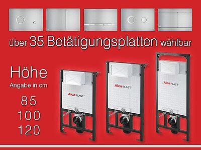 WC Vorwandelement A101 - 120 100 85cm - Spülkasten Wand WC Unterputzspülkasten