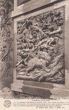 CPA BELGIQUE BELGIUM BRUXELLES expo publique belgo-japonais panneau sculpte