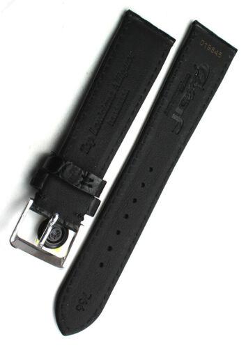 19mm Top Louisiana ALLIGATOR BAND made GERMANY KROKOBAND Uhrenband feine Narbung