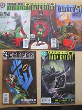 "BATMAN LEGENDS of DARK KNIGHT 127 -131 : ""ARROW & the BAT"" COMPLETE 5 part STORY"