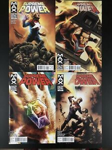 SUPREME-POWER-GODS-AND-SOLDIERS-TPB-REPS-1-4-NM-Complete-Set-Mini-Run