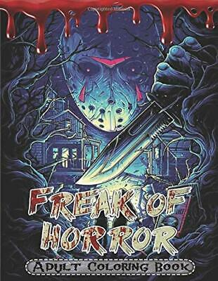 FREAK OF HORROR ADULT COLORING BOOK (Paperback - May 14 ...