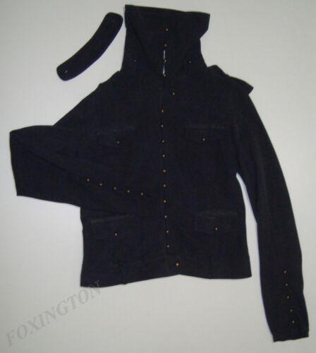 Silk 4 40 Style amp;bide 10 Black Sass Jacket Beautiful Faded aus Military 8nwqCxzwYf