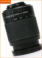 Nikon 28-100mm F3.5-5.6G Zoom Lens Teleobiettivo autofocus + GRATIS UK