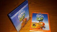 RANGO Blu-ray US import all region free a abc rare slipcover(longer cut than UK)