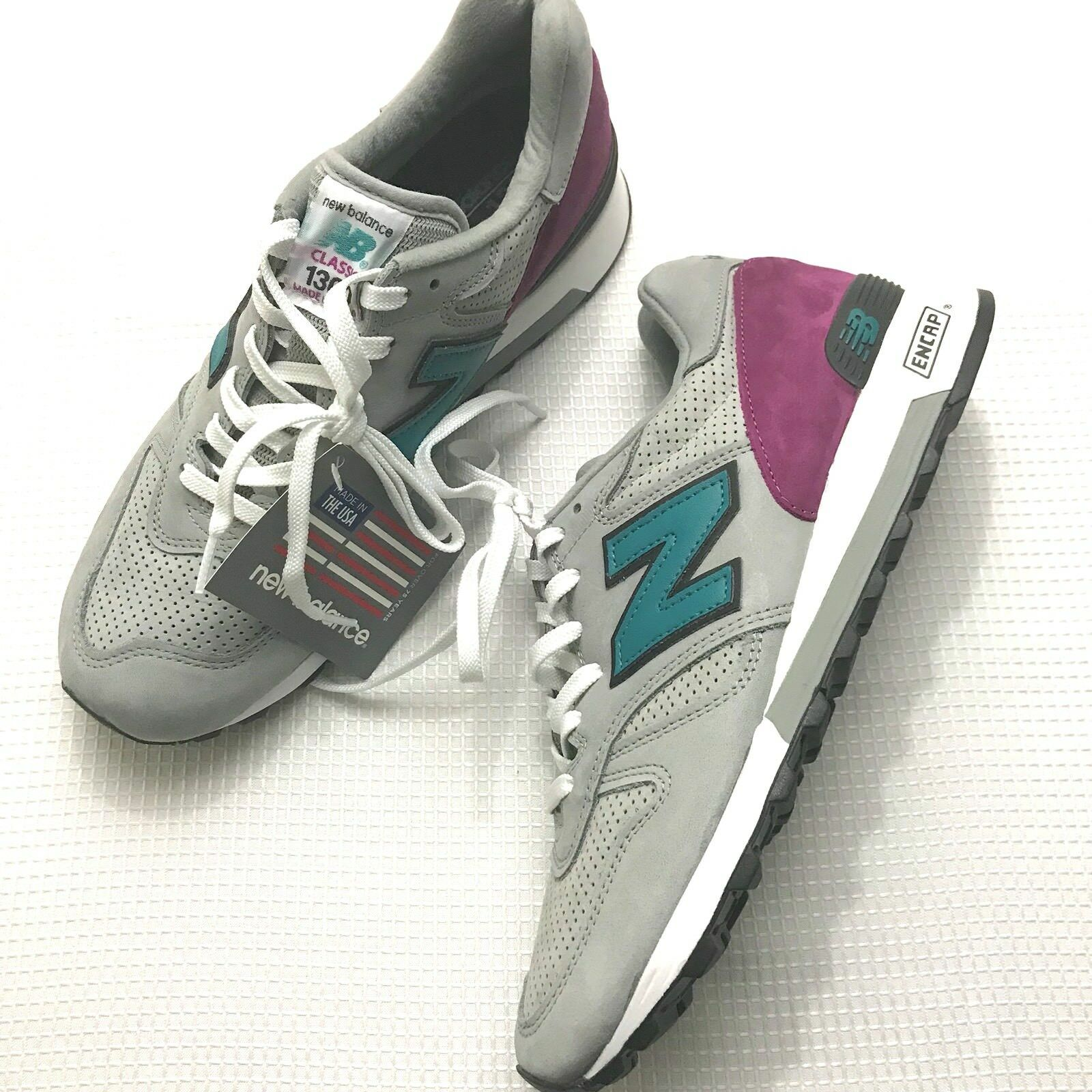 online store 6014e a672b New Balance Balance Balance M1300DGR Connoisseur Painters Grey Teal Mens  Size 10 DS NEW!