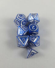 Floating Face Polyhedral 7-Die Set Blue - Gaming Dice available