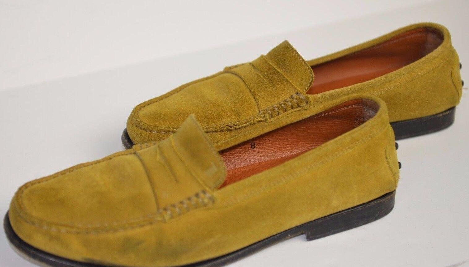 Tod'S Mujer Slip On verde verde verde Suede Slip On Zapatos Carrera Talla 8 Italia tamaño cómodo  Nuevos productos de artículos novedosos.