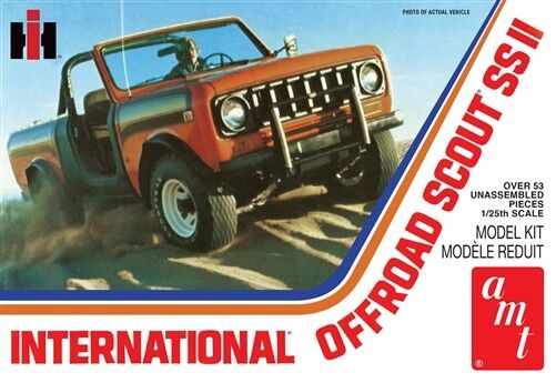 AMT  general hobby plastic models 1 1 1 25 International Scout Ii AMT1102 c7323a