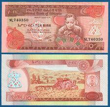 ÄTHIOPIEN / ETHIOPIA  10 Birr (1991) UNC  P.43 b