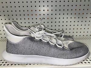 Adidas-Originals-Tubular-Shadow-Mens-Athletic-Running-Shoes-Size-13-Gray-White