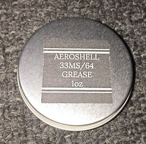Details about AeroShell 33MS/64 Barrel & Nut Lithium Moly Synthetic  Grease-Mil Spec - 1oz Jar