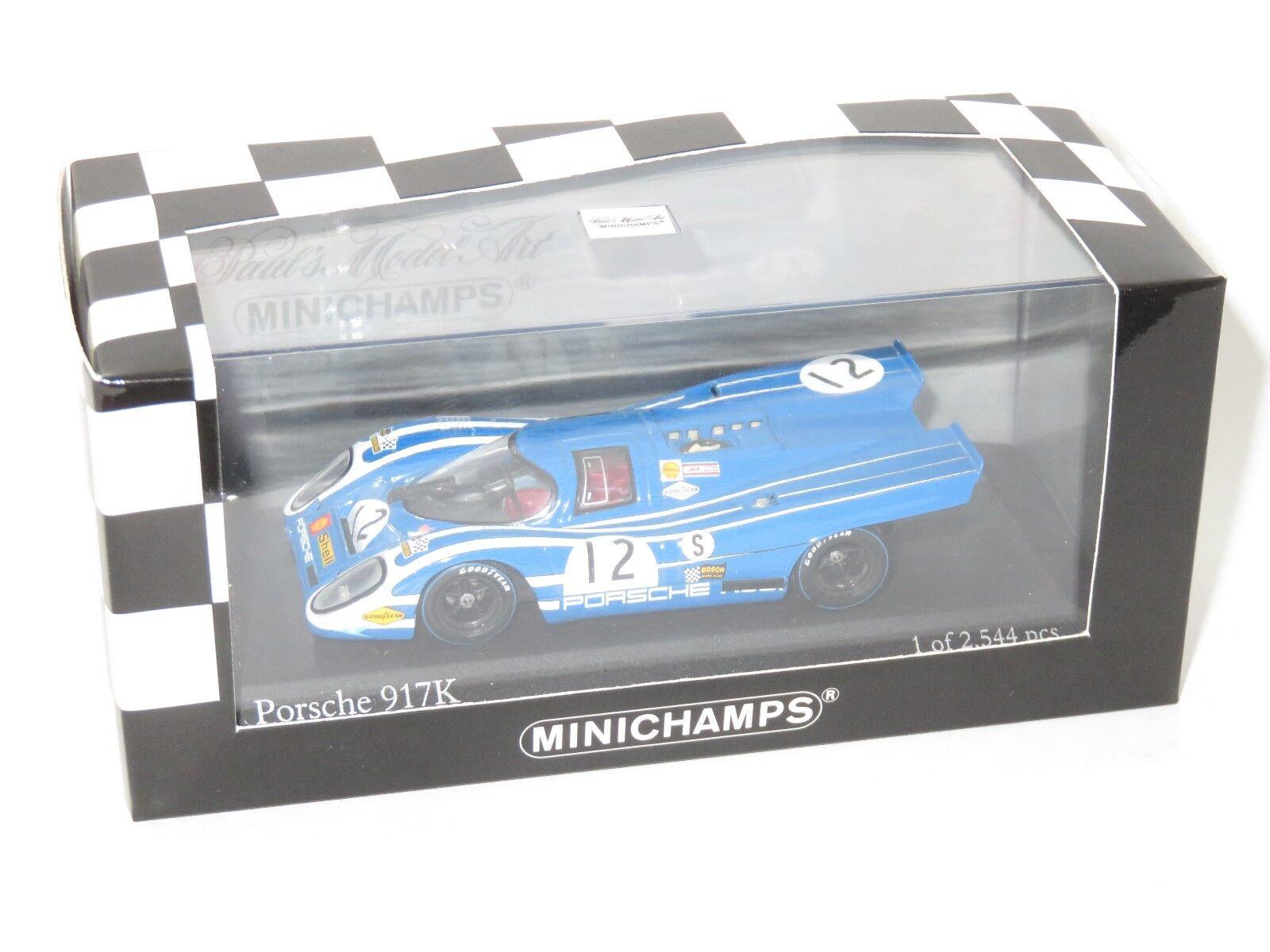 PORSCHE 917K 1000Km Brands Hatch 1970  12 HERRMANN ATTWOOD
