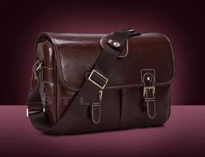 PU Leather DSLR Shoulder Camera Case Bag For Pentax K-1 K3II K-50 K-70 KP
