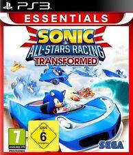 Ps3 gioco Sonic & e Sega All-Stars Racing Transformed NUOVO & SCATOLA ORIGINALE PLAYSTATION 3