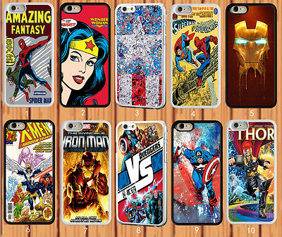 Marvel Superhero - Iron Man - Superman for iPhone And Samsung Galaxy Case Cover