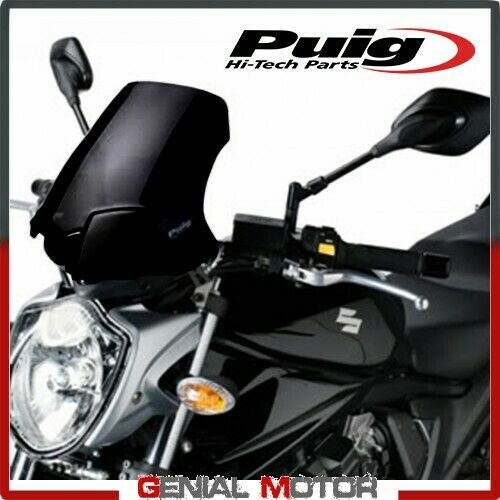 PUIG WINDSHIELD BLACK 5027N SUZUKI GSF BANDIT 650 2009 / 2011