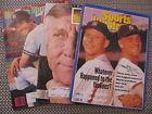 VINTAGE SPORTS ILLUSTRATED BASEBALL MAGAZINES/ LOT OF THREE 1985 1991 1994