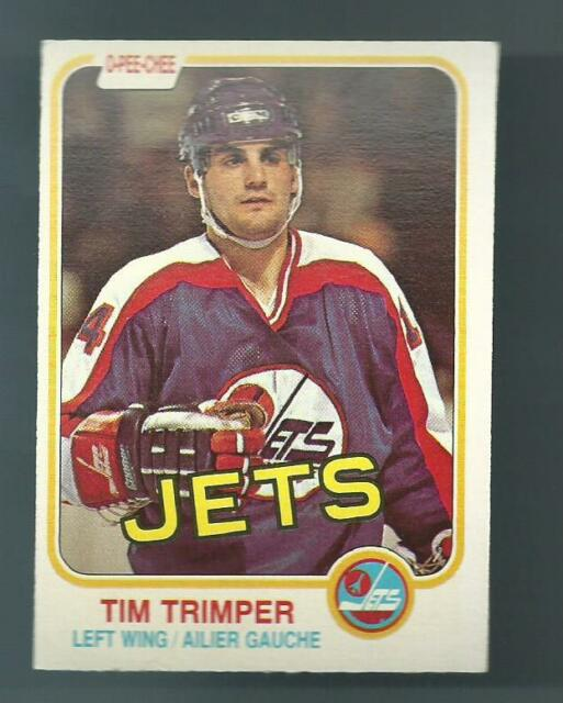 1981-82 O-Pee-Chee #376 Tim Trimper NM Mint