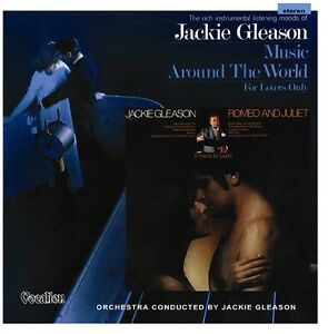 Jackie Gleason - Romeo and Juliet & Music Around the World for Lovers 1960s CD
