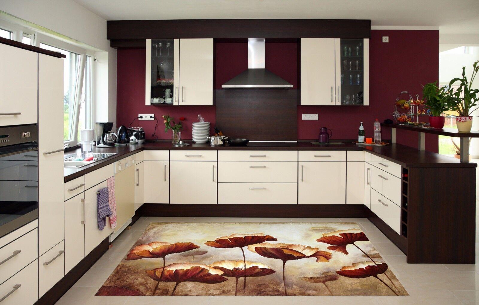 Stampe Da Cucina : 3d tappeto oro lotus 541 tappeto 3d da cucina parete pavimento muro