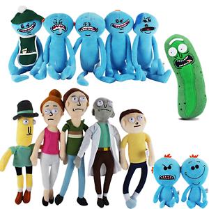 Rick and Morty Meeseeks Sad Plush Stuffed Toy by JINX