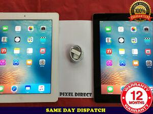 GRADE A Apple iPad 2 16GB 32GB 64GB WiFi or Cellular 3G Unlocked Black or White