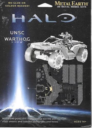 HALO Game UNSC Warthog Metal Earth 3-D Laser Cut Steel Model Kit #MMS291 SEALED
