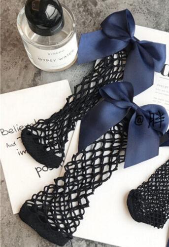 Mode Damen Rüsche Fischnetz Knöchel Hoch Socken Netz Spitze Fisch Shorts NEU