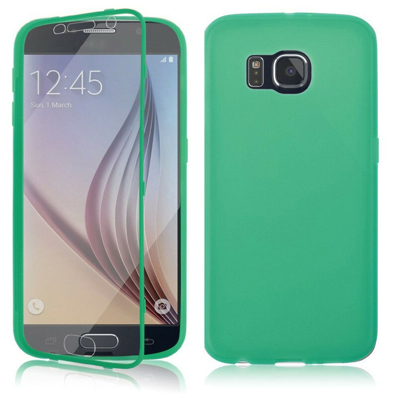Crystal Clear TPU Gel Silicone Flip Case Cover For Samsung ...