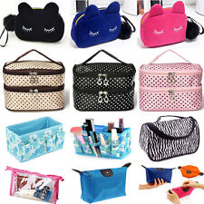Multifunction Travel Cosmetic Bag Makeup Case Pouch Storage Toiletry Organizer
