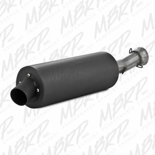 MBRP Slip-on system w//Sport Muffler Exhaust Arctic Cat 400//500 4X4 FIS 2004-2005