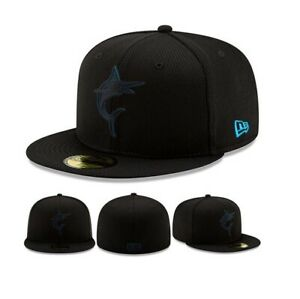 the best attitude 56435 8d2d3 Image is loading Miami-Marlins-New-Era-Clubhouse-Collection-59FIFTY-Fitted-